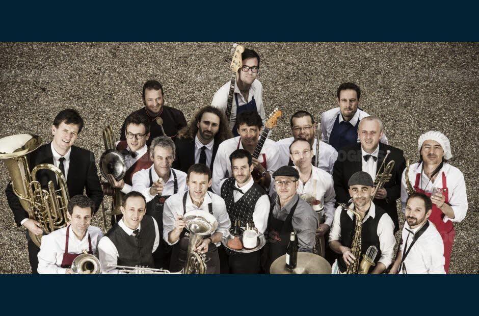 Big Band de l'Oeuf - L'Oeuf Big Band - Petits plats pour grand ensemble